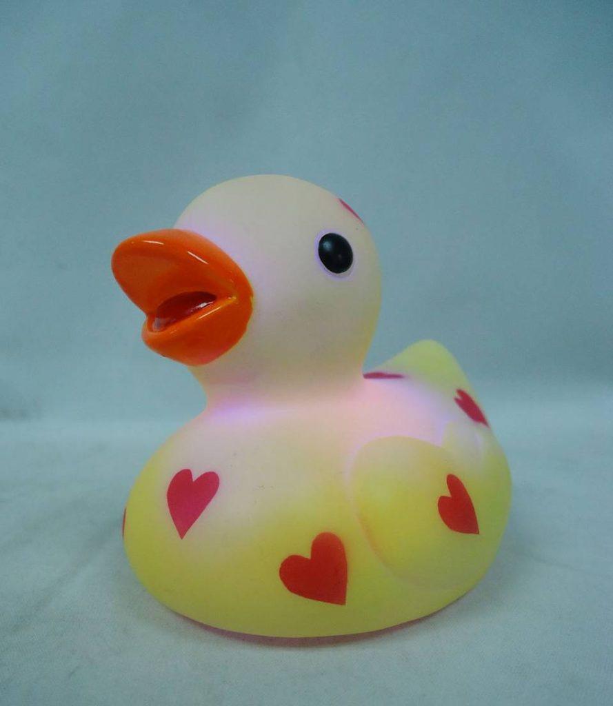 heart rubber ducky
