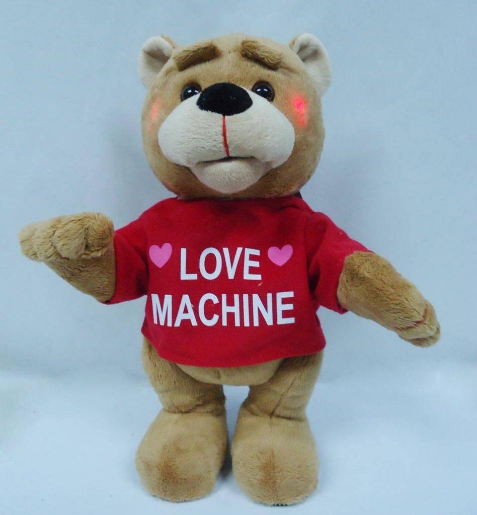 love machine teddy bear