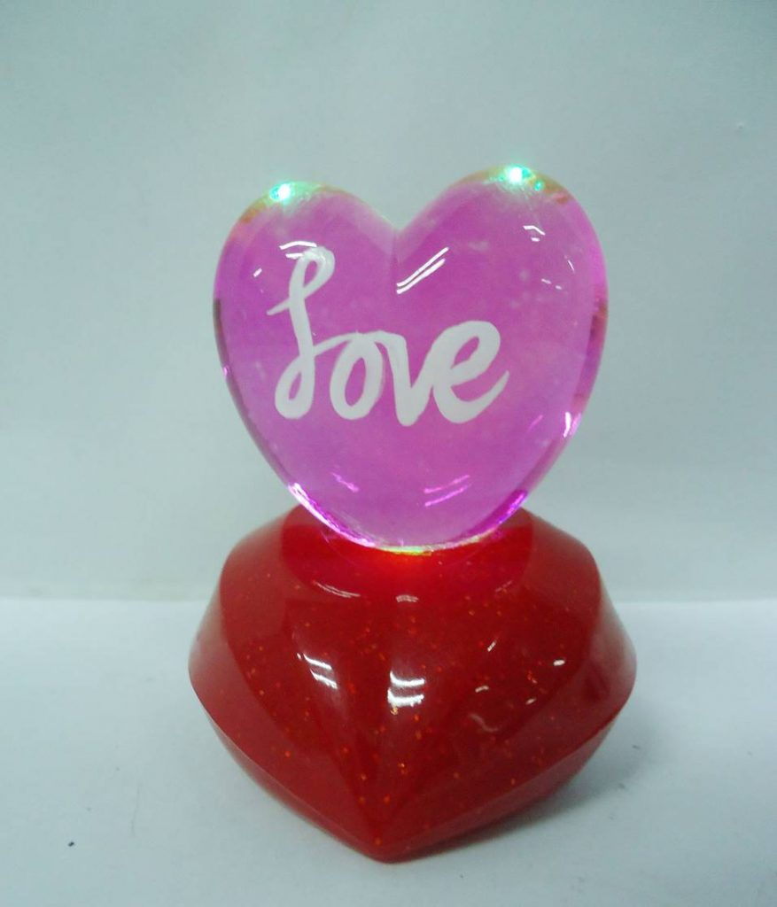 crystal love heart