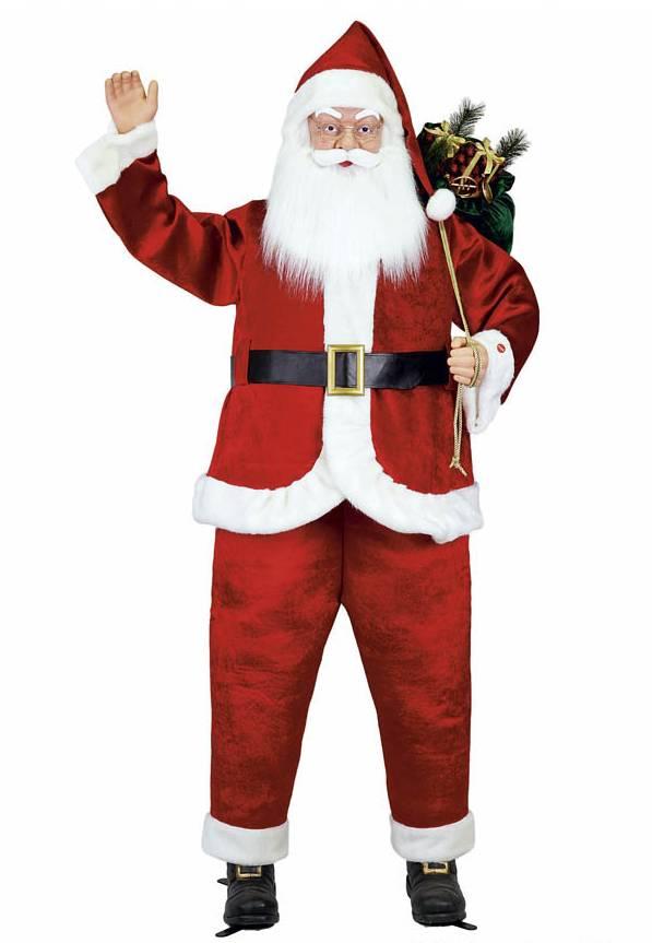 Life-Size Santa